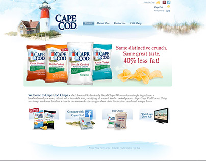 Cape Cod Chips website
