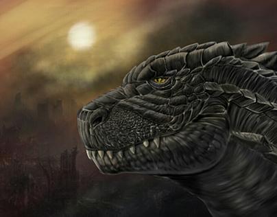 King of Monsters by Liger (fan art)