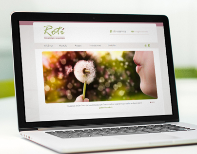 Website Insitucional - Clínica Rotí