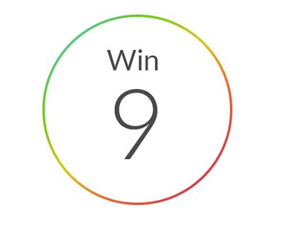 Windows 9 logo concept