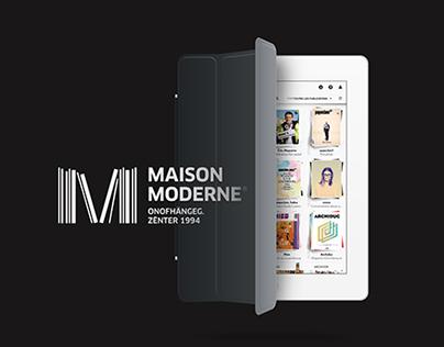 Maison Moderne Digital Kiosque