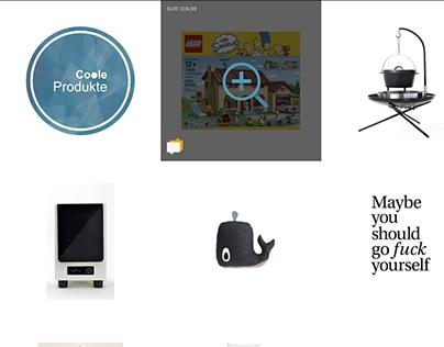 Webdesign / Web Development - CooleProdukte.de