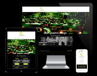 Impronta Comunicazione | Responsive Website Design