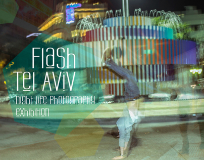 Flash Tel Aviv - night life photography exhibition