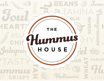 The Hummus House Branding