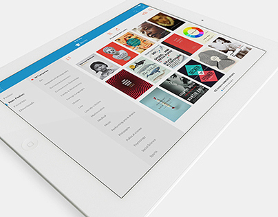 Library App - ipad | android | android wear