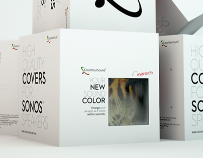 Color Your Sound - Packaging