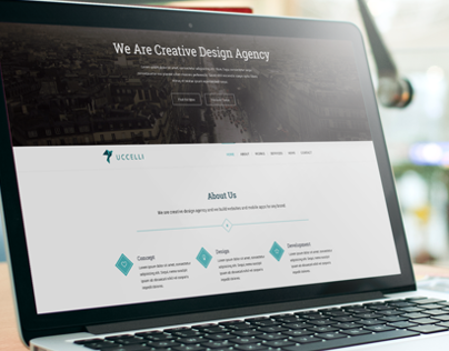 Uccelli | One Page Responsive HTML & CSS Template