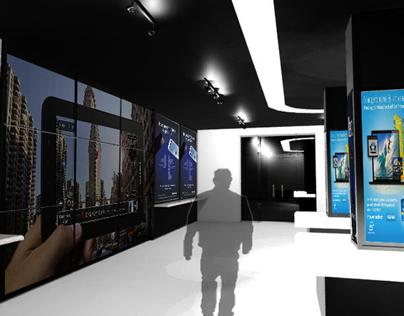 Samsung Mobile Showroom
