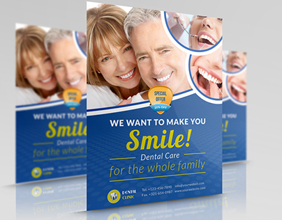 Dental Flyer Template Divingthexperienceco - Dental brochure template