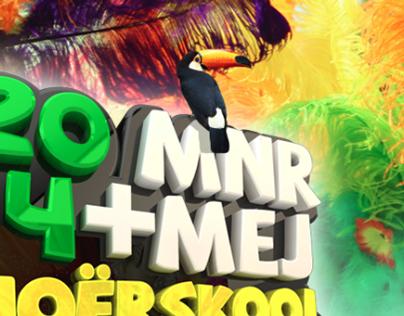 2014 Mnr en Mej Hoërskool Tuine - Flyer/kaartjie