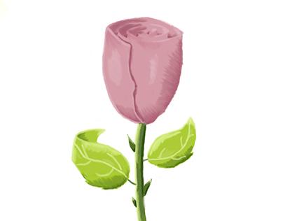 Rose Painting Photoshop