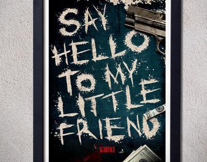 Scarface - Alternative movie poster .