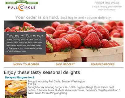 Health Food Websites & Emails