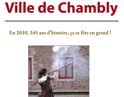 345th Anniversary City Fest Brochure (French)