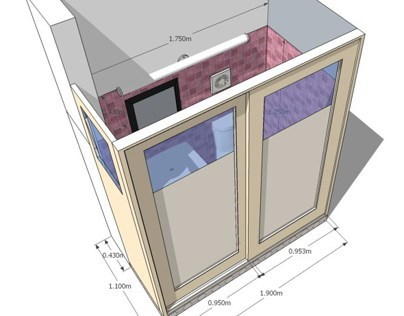 Adding a bathroom in a bedroom