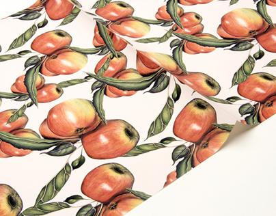 Natural gift wrap designs