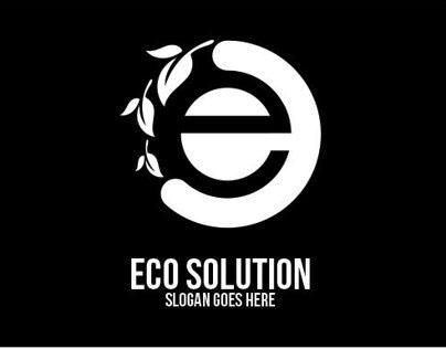 Eco Solution Logo Template