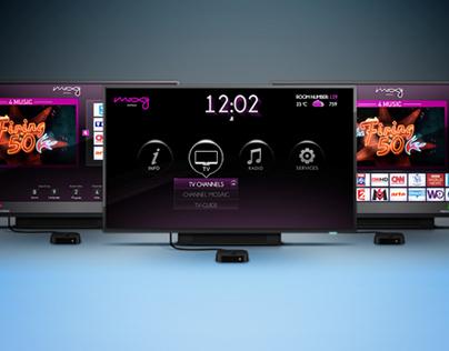 IPTV UI/UX