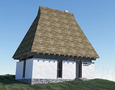 Tourist info-center Apuseni Mountains Romania