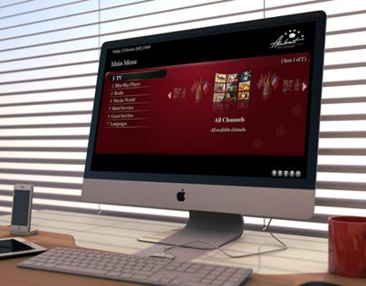 IPTV custom UI/UX