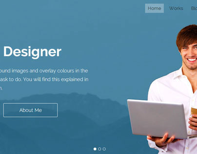 Promotico - bootstrap 3 template