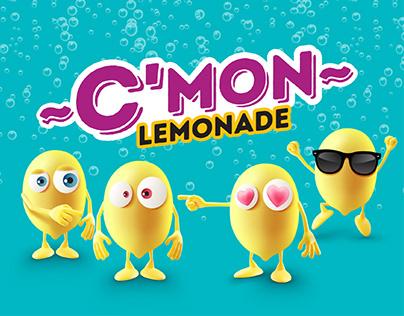 C'mon Lemonade Packaging