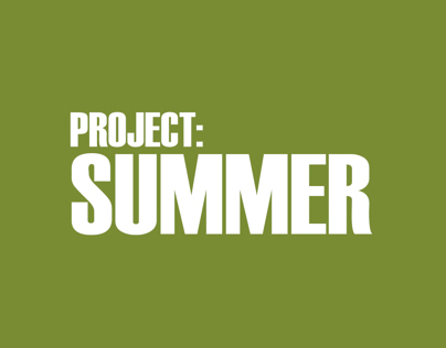 Project: Summer