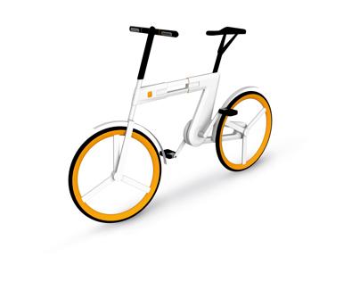 SPINIT - Urbane Mobilität - Faltrad Konzept