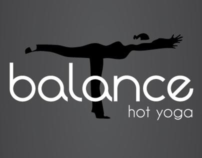 Brand Identity & Website   Balance Hot Yoga