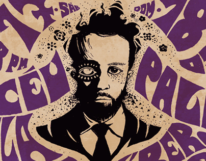 Marcelo Jeneci Poster Art