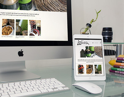 Loliva - e-commerce & responsive site