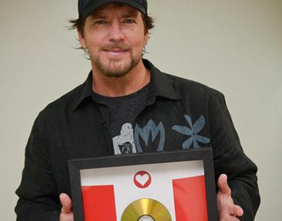 Pearl Jam   Gold Award
