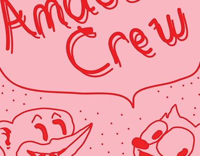 Amadoo's Crew Summer Tour Poster