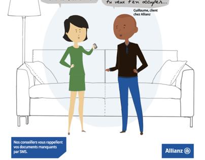 Allianz (campagne iPhone5C)