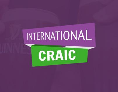 Brand & iOS Design - International Craic