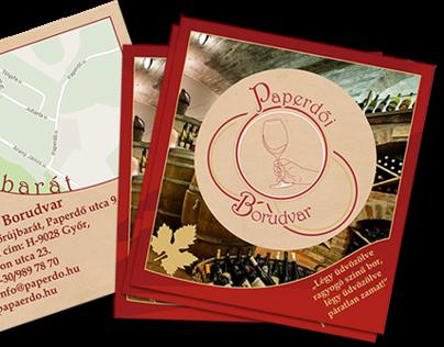 Paperdő Winery Prospect/Flyer