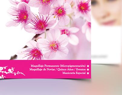 GM MakeUp | Print Design