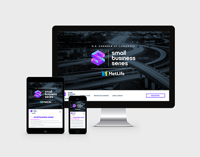 Small Business Series Site Design