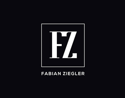 Logotype for Percussionist Fabian Ziegler