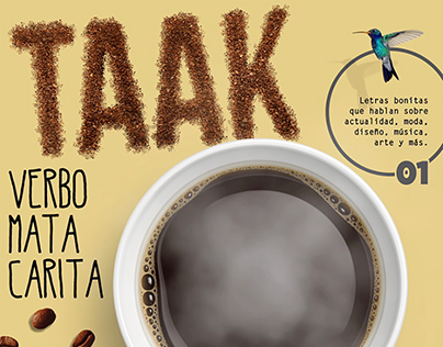 Taak Cover. Digital Publishing project.