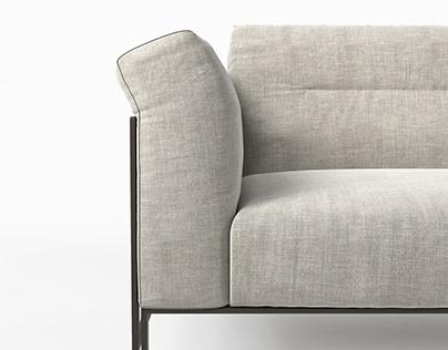 Liko sofa and armchair