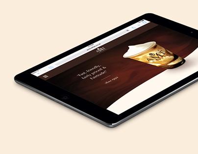 AMT Coffee website