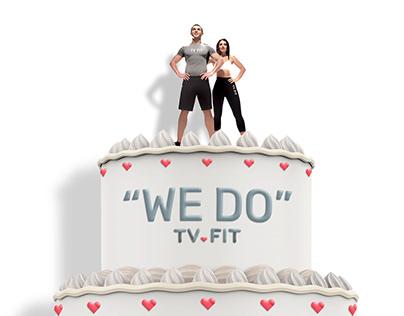 TV.FIT wedding ad.