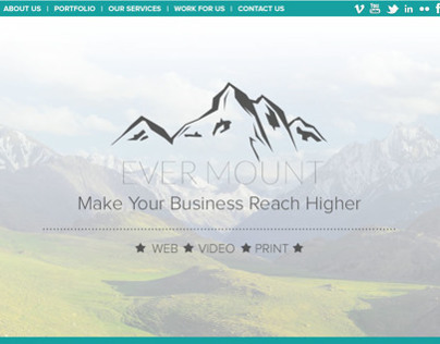 EverMount | Web Design