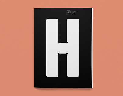 Hardy — A display typeface
