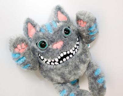Crazy Smiling Cheshire Cat