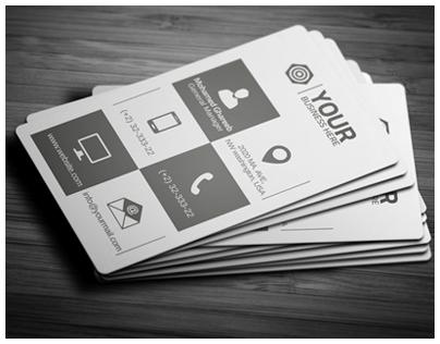 Creative Corporate Business Card 38