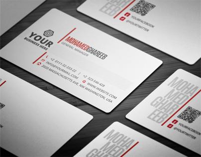 Creative Corporate Business Card 15
