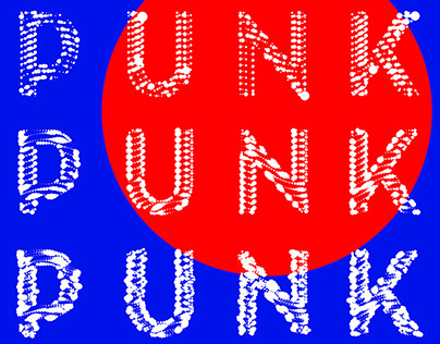 Colorpong.com - PUNKT Vector Typeface